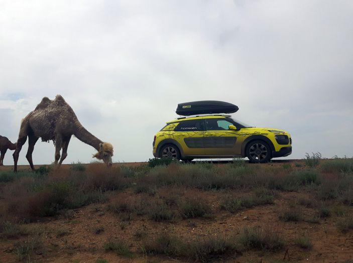 Citroën Avventura Gialla: la C4 Cactus arriva in Kazakistan - Foto 1 di 5