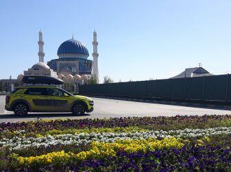 Citroën Avventura Gialla: la C4 Cactus si dirige verso il Kirghizistan