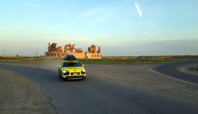 Citroën Avventura Gialla 2017: la C4 Cactus attraversa il Kirghizistan