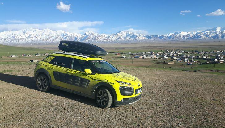 Citroën Avventura Gialla: la C4 Cactus attraversa il Kirghizistan - Foto 8 di 8