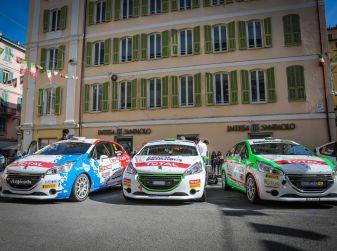 Peugeot, Pirelli ed i trofeisti del Competition per la Famiglia del commissario Laganà