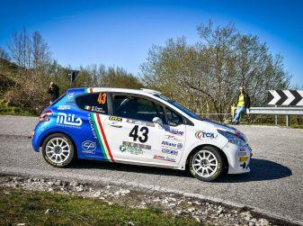 Trofeo Peugeot Competition Rally 208 – Partecipazione record al Rally del Taro
