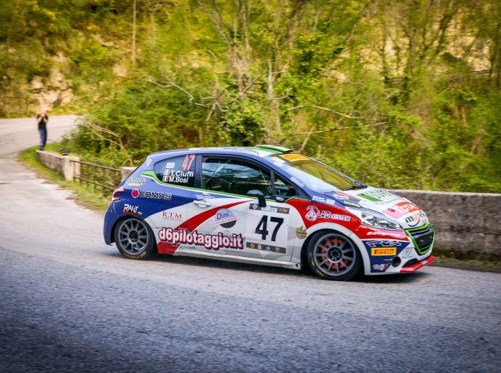 Trofeo Peugeot Competition Rally 208 – Partecipazione record al Rally del Taro - Foto 2 di 4