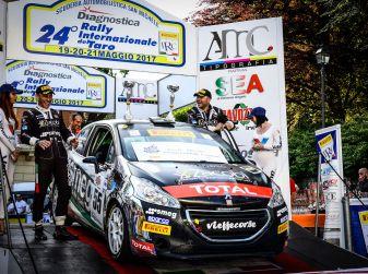 Marcello Razzini si aggiudica l'appuntamento del Rally del Taro