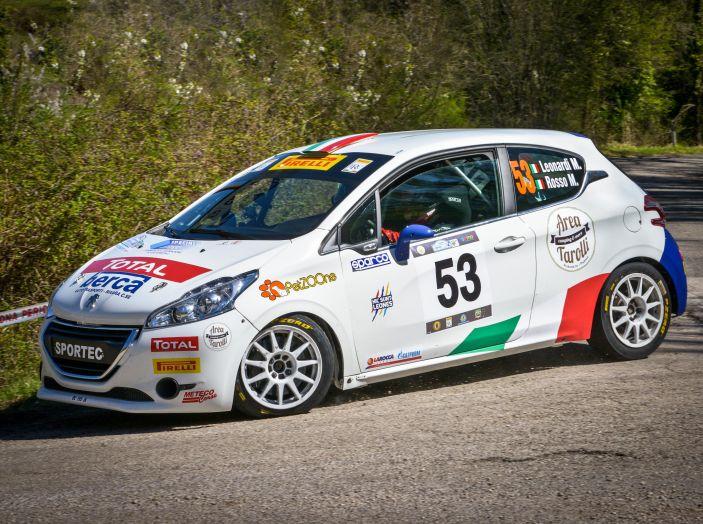 Trofeo Peugeot Competition Rally 208 – Partecipazione record al Rally del Taro - Foto 4 di 4