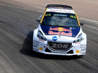 Il Team Peugeot Hansen al secondo posto del campionato del mondo di Rallycross