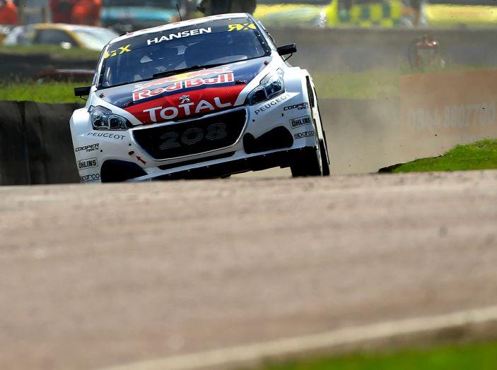 Il Team Peugeot Hansen al secondo posto del campionato del mondo di Rallycross - Foto 4 di 7