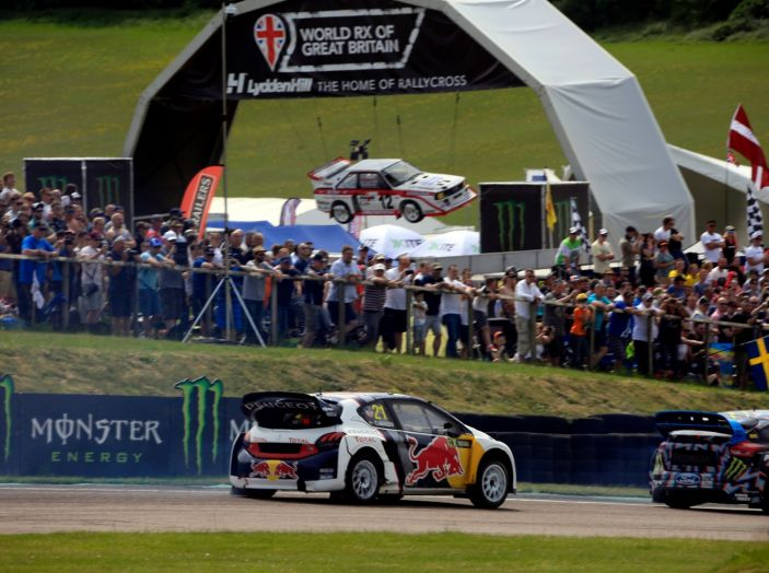 Il Team Peugeot Hansen al secondo posto del campionato del mondo di Rallycross - Foto 6 di 7