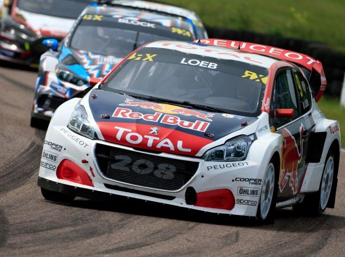 Il Team Peugeot Hansen al secondo posto del campionato del mondo di Rallycross - Foto 5 di 7