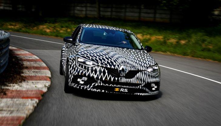 Nuova Renault Megane R.S. 2017: primo giro al GP di Monaco di F1 - Foto  di