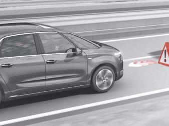Citroën Distance Alert, il sistema di allerta rischio collisione