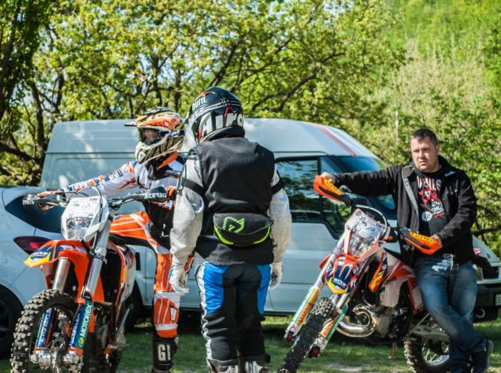 Parco Offroad il Poggiolo: mille ettari con Fattore Moto e Lucchinelli Experience - Foto 8 di 47