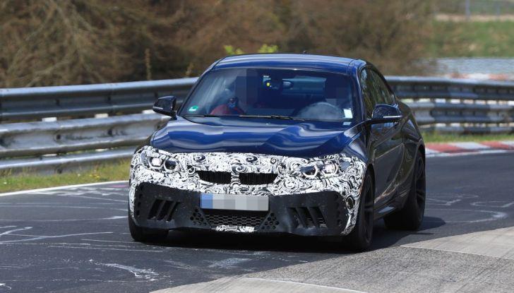 BMW M2 Facelift 2018 prime foto spia - Foto 9 di 14