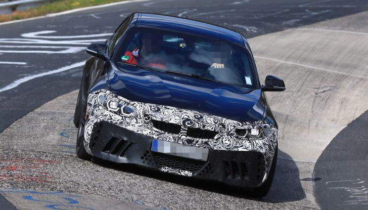 BMW M2 Facelift 2018 prime foto spia - Foto 10 di 14
