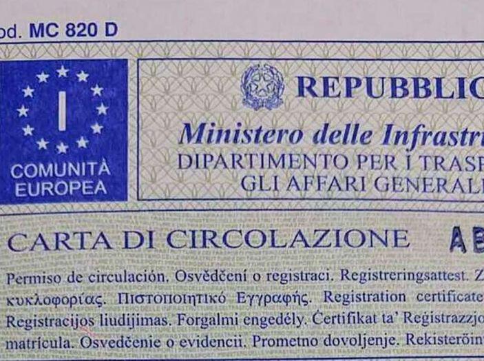 Carta unica di circolazione, via libera del Consiglio dei ministri - Foto 5 di 7