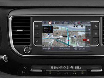 Citroën Connect Nav con riconoscimento vocale