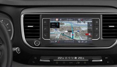 Citroën Connect Nav con riconoscimento vocale