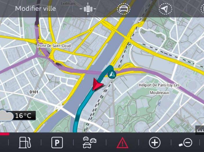 Citroën Connect Nav con riconoscimento vocale - Foto 6 di 13