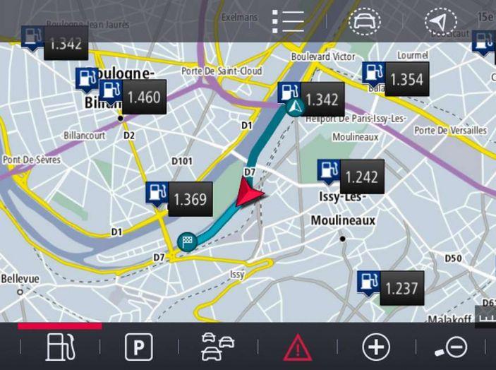 Citroën Connect Nav con riconoscimento vocale - Foto 8 di 13