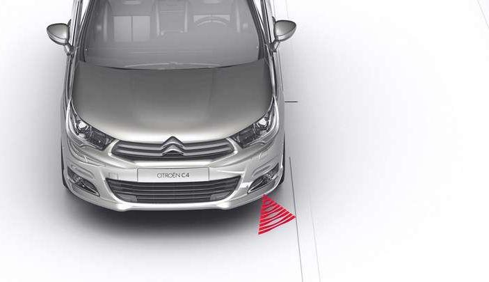 Citroën Lane Departure Warning, avviso attivo di superamento della linea di carreggiata - Foto 2 di 13