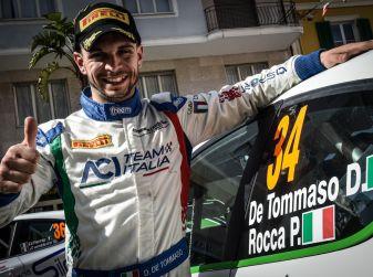 Damiano De Tommaso si impone al Rally Adriatico nel Trofeo Peugeot Comptetition TOP 208