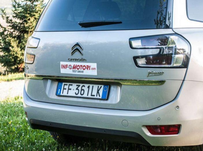 Citroën Grand C4 Picasso automatica : la nostra prova del Diesel da 120CV - Foto 28 di 37