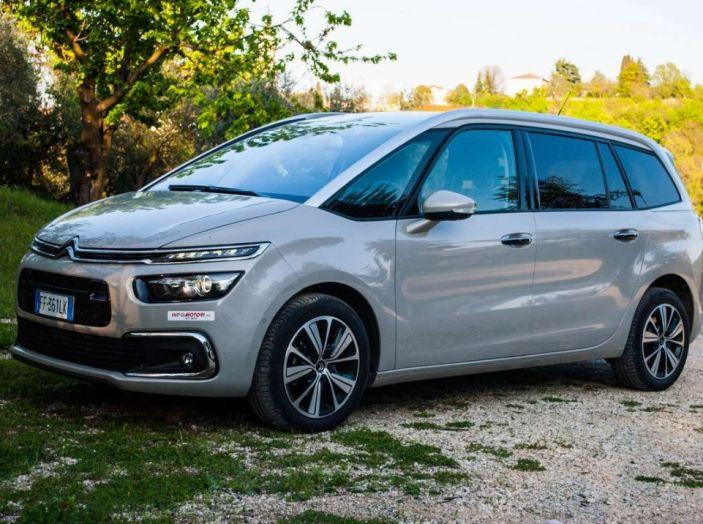 Citroën Grand C4 Picasso automatica : la nostra prova del Diesel da 120CV - Foto 29 di 37