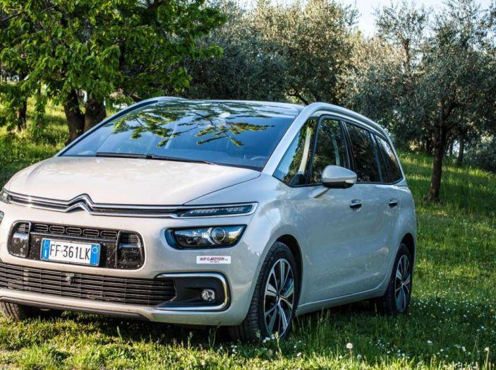 Citroën Grand C4 Picasso automatica : la nostra prova del Diesel da 120CV - Foto 36 di 37