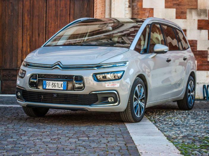 Citroën Grand C4 Picasso automatica : la nostra prova del Diesel da 120CV - Foto 16 di 37