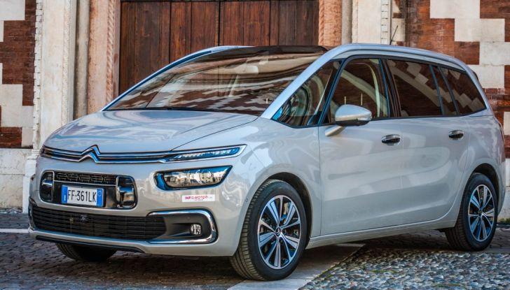 Citroën Grand C4 Picasso automatica : la nostra prova del Diesel da 120CV - Foto 17 di 37
