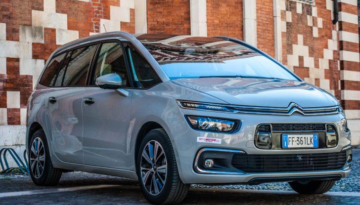 Citroën Grand C4 Picasso automatica : la nostra prova del Diesel da 120CV - Foto 1 di 37