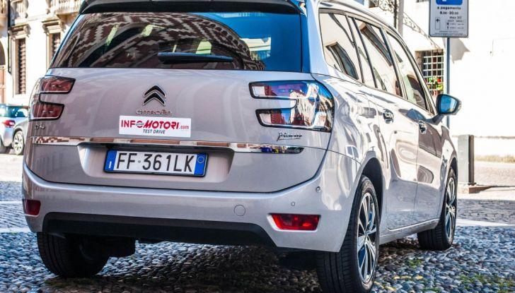 Citroën Grand C4 Picasso automatica : la nostra prova del Diesel da 120CV - Foto 6 di 37