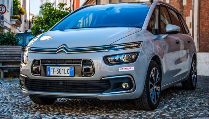 Citroën Grand C4 Picasso automatica : la nostra prova del Diesel da 120CV - Foto 7 di 37