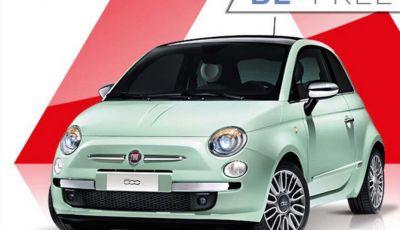 Fiat 500 in affitto con canoni da 199 per 1.2 POP a 276 euro per 500 Riva con Fiat Be Free