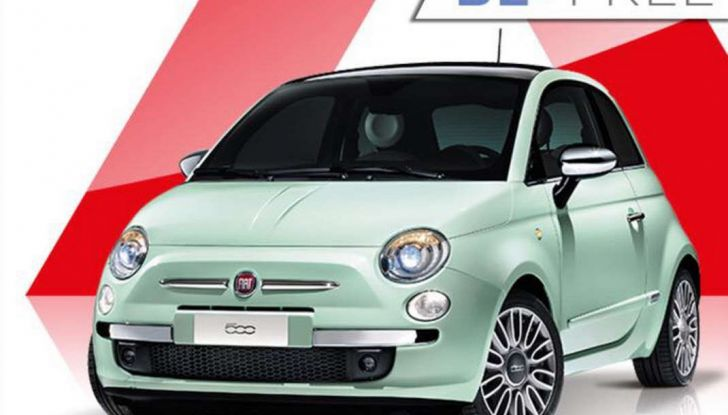 Fiat 500 in affitto con canoni da 199 per 1.2 POP a 276 euro per 500 Riva con Fiat Be Free - Foto 1 di 11