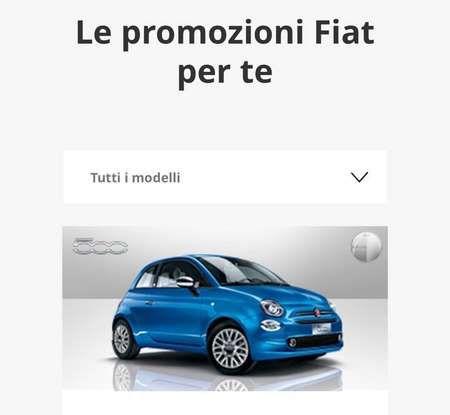Fiat 500 in affitto con canoni da 199 per 1.2 POP a 276 euro per 500 Riva con Fiat Be Free - Foto 6 di 11