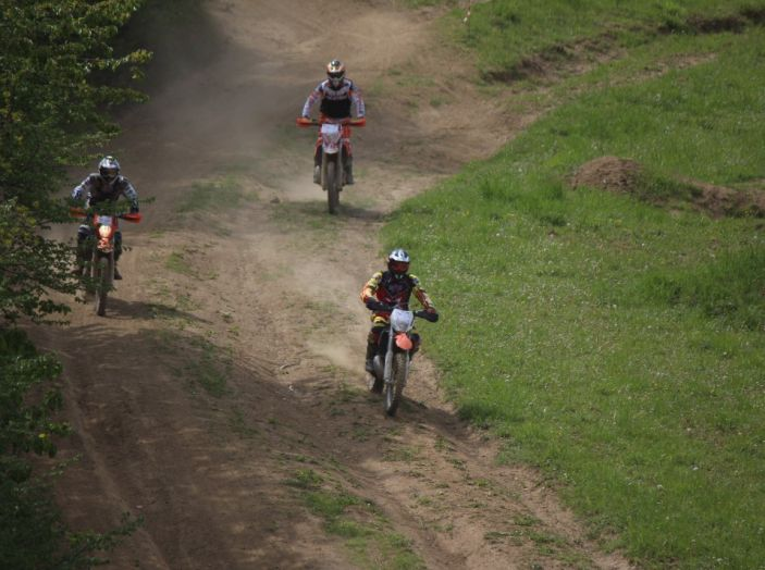 Parco Offroad il Poggiolo: mille ettari con Fattore Moto e Lucchinelli Experience - Foto 44 di 47