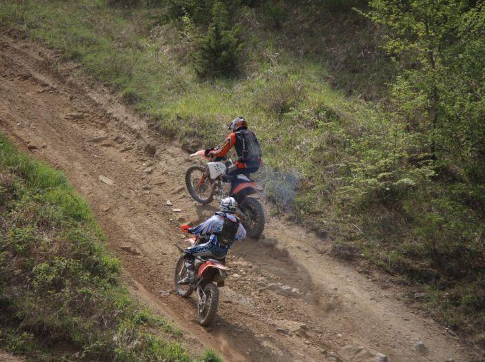 Parco Offroad il Poggiolo: mille ettari con Fattore Moto e Lucchinelli Experience - Foto 45 di 47