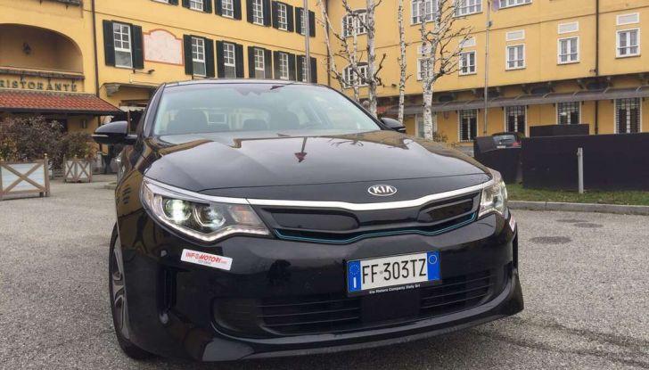Kia Optima Plug-in Hybrid, prova su strada e impressioni di guida - Foto 14 di 22