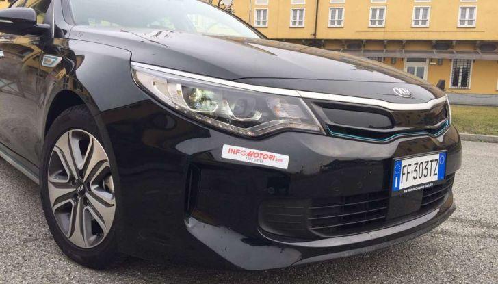 Kia Optima Plug-in Hybrid, prova su strada e impressioni di guida - Foto 19 di 22