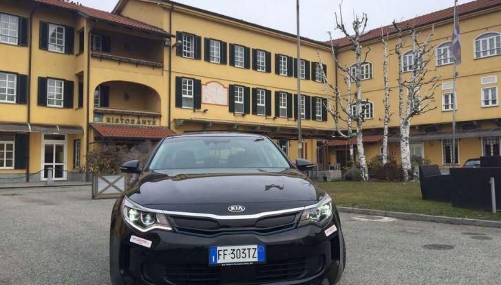 Kia Optima Plug-in Hybrid, prova su strada e impressioni di guida - Foto 21 di 22