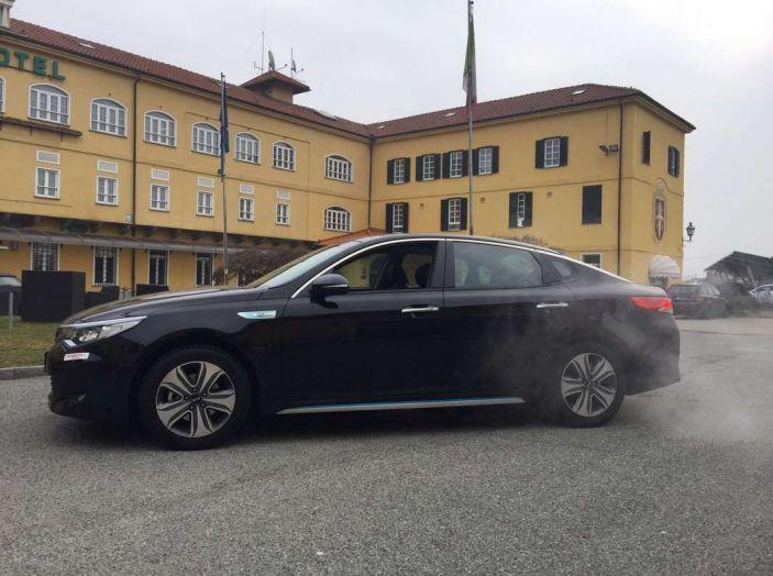 Kia Optima Plug-in Hybrid, prova su strada e impressioni di guida - Foto 9 di 22