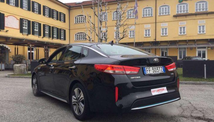 Kia Optima Plug-in Hybrid, prova su strada e impressioni di guida - Foto 13 di 22