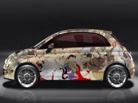 La Fiat 500 Kar_Masutra di Lapo Elkann e Garage Italia