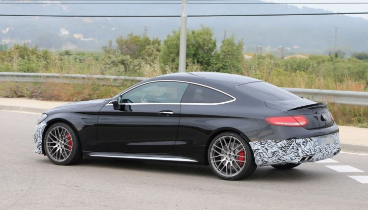 Mercedes AMG C63 Coupé 2018, pronti all'evoluzione - Foto 3 di 9