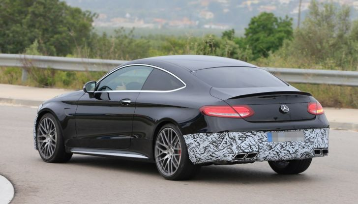 Mercedes AMG C63 Coupé 2018, pronti all'evoluzione - Foto 8 di 9