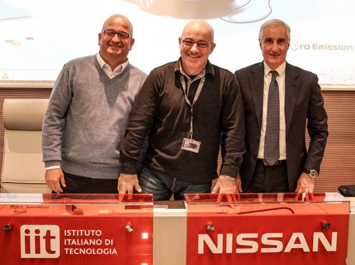 Nissan, Enel Energia e l'Istituto Italiano di Tecnologia di Genova: Verso il futuro - Foto 10 di 25