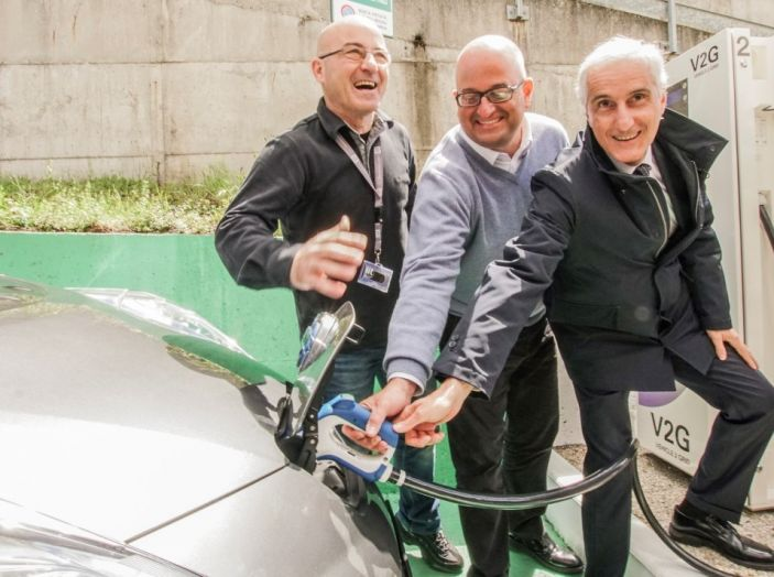 Nissan, Enel Energia e l'Istituto Italiano di Tecnologia di Genova: Verso il futuro - Foto 11 di 25