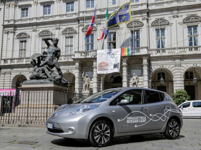 Espansione elettrica: una Nissan Leaf per il Sindaco di Torino - Foto 17 di 17