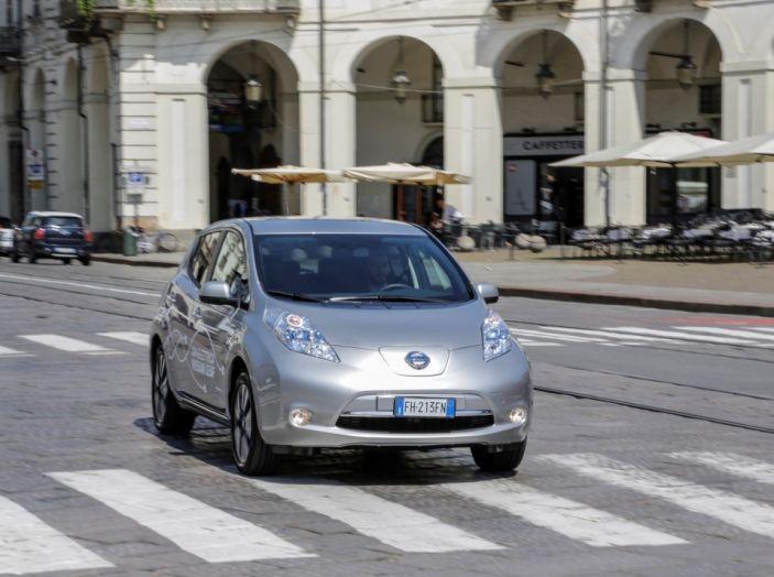 Espansione elettrica: una Nissan Leaf per il Sindaco di Torino - Foto 4 di 17